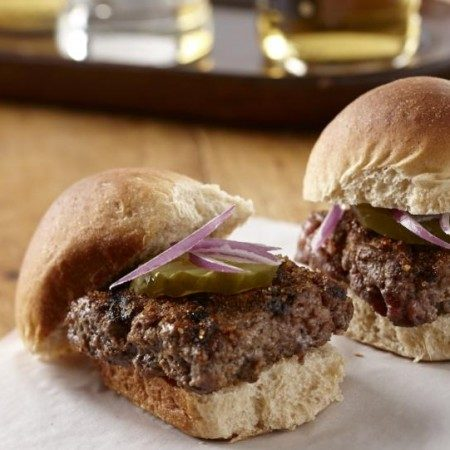 Sliders with Special Burger Sauce
